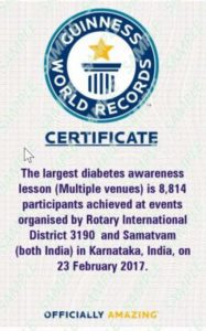 GWR-Diabetes Awareness